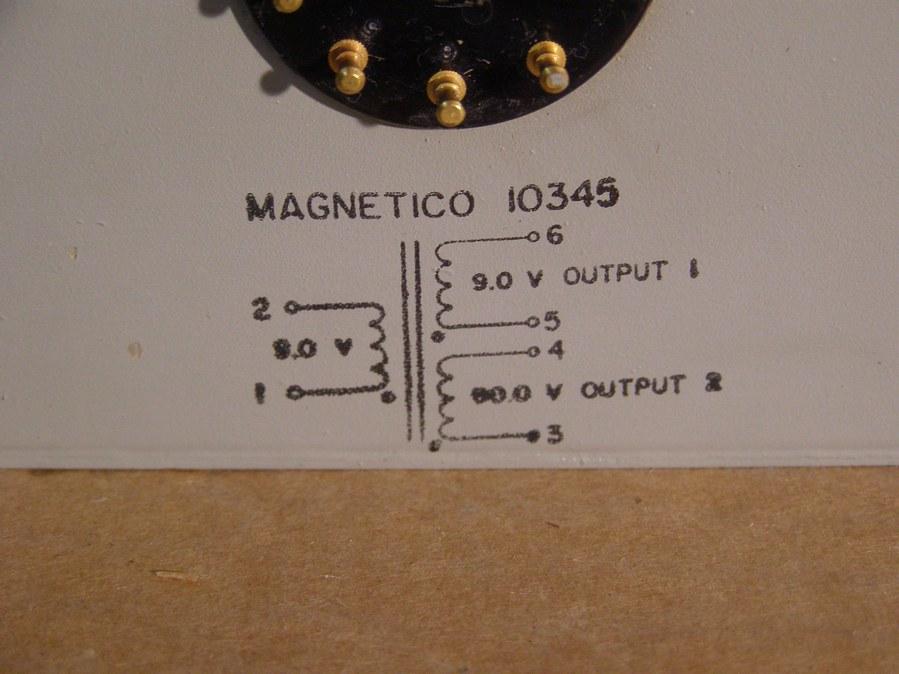 MAGNETICO 10345  Transformer Transformator