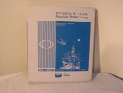 King RT-1301A/RT-1401A Receiver-Transmitters Manual