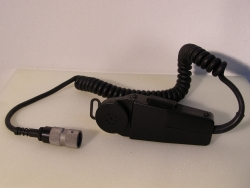 Microphone Dynamic M-80C/U mit Stecker Selcom U-229/U