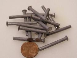 Flugzeugbau Senkkopf Nieten Aluminium L ca. 38,20 mm x D ca.4,00 mm (100 Stück)
