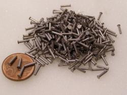 Flugzeugbau Senkkopf Nieten Stahl L ca. 8,00 mm x D ca.1,60 mm (100 Stück)