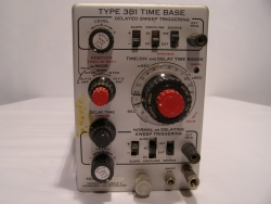 Einschub Type 3B1 Time Base für Tektronix Oscilloscope Type 561A