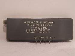 Variable Delay Network Verzögerungsrelais 0,05µ/sec bis 0,5µ/sec