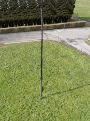 Antennen- ALU - Kurbelmast 10 Meter Geroh inkl. Zubehör