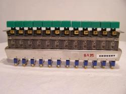 Tastenfeld mit 12x Crouzet Mikroschalter