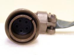 ITT Cannon CA3108 R18-11P-F80 Steckverbinder Stecker 5 Pol