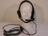 Bund Elno H-390 Headset (Kopfhörer,Mikrophon)mit Stecker U-77/U als Ersatzteilträger
