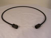 Souriau Verbindungskabel von 06R11210S50 auf 06R11210P50 Kabel : L.ca. 1000 mm 5995-12-158-5099