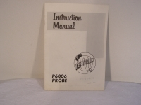 Tektronix P6006 Probe Instruction Manual