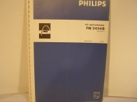 Philips AC-millivoltmeter PM 2554B Instruction Manual