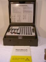 Prüefgerät Batterie für Trockenbatterien 0-200V
