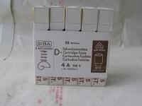1x 25 Stück Siba DIN 49515 Sicherungen D-Schmelzeinsätze 4A 500V