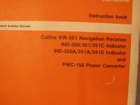 Collins Instruction Book VIR-351 Navigation Receiver