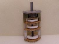 Rohde & Schwarz Stufenschalter Drehschalter  Typ - 0126.0938.00