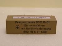 Frequenzrelais Bf.81.11-01 mit Reedkontaktausgang 1650Hz 6V Eintonverfahren