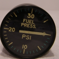 FUEL PRESSURE Aircraft Anzeige 0 - 35 PSI