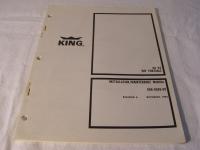 King Installation / Maintenance Manual KA 93 VHF Portable