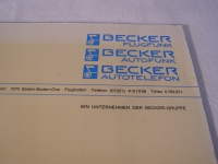 Becker Flugfunk ADF 2000 Installation and Operation