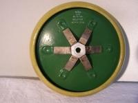 Rosenthal Keramik-Wulstrandkondensator HF/HV-Kondensator 42 PE140 800pF +-5% 40KVA 13kV