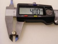 Flugzeugbau Linsenkopf Nieten Stahl L ca. 10,10 mm x D ca.4,00 mm (100 Stück)