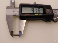 Flugzeugbau Linsenkopf Nieten Stahl L ca. 9,15 mm x D ca.2,40 mm (100 Stück)