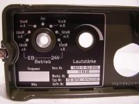 TEKADE FSE 38 /58 Frontplatte