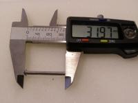 Flugzeugbau Linsenkopf Nieten Aluminium L ca. 32,00 mm x D ca.3,00 mm (100 Stück)