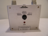 Linde Frequenzgeber 1000Hz.....3000Hz 30000Upm....90000Upm
