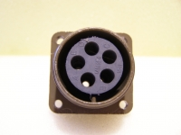 ITT Cannon CA3102 R18-11SY-BM03 Steckverbinder Buchse 5 Pol