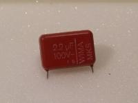 10 x WIMA MKS-Folienkondensator 2.2 µF 100 V