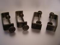 4x Tischklemmen Schraubzwingen