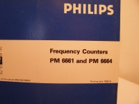 Philips Frequency Counters PM 6661 and PM 6664 Instruction Manual