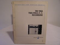Hewlett Packard 136/136A TWO-PEN X,Y1,Y2 RECORDERS SERVECE MANUAL