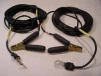 TEST-FUCHS PLK901-8 Stromversorgungskabel mit Krokodilklemmen 6150-12-334-3105
