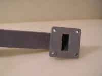 Adapter Rechteckigerhohlleiter von ca.B22mm x H22mm auf ca.B23mm x H11mm