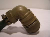 ITT Cannon MS3108R22-14S Steckverbinder Stecker 19 Pol