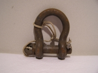 2x US Military Schäkel Schaekel Clevis Shackle MS 70086-1 Fc66