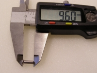 Flugzeugbau Senkkopfnieten Stahl  100 Stück