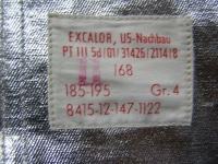 Excalor US-Nachbau  Hitzeschutzanzug Größe 4