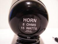 Horn LAUTSPRECHER 8 Ohm 15W mit Halterung