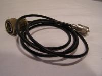 Verbindung?skabel vom Spinner zum PL- Stecker mit Kabel RG-58 C/U-LEONI Lca.1,4m