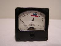 Milliamperemeter Analog-Einbaumessgerät Anzeigebereich 0....50 µA