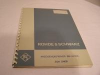 Rohde & Schwarz Vorläufige Beschreibung Anzeigeverstärker BN-4247201