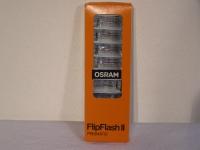 Osram FlipFlash 2 Prismatic Blitzbirnen Blitzschiene mit 8 Blitzlampen 1 Pack