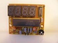 Low-Cost 3,5stelliges LED-Panelmeter