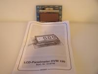 LCD-Panelmeter DVM 199