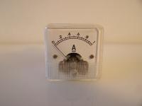 Amperemeter Analog-Einbaumessgerät Anzeigebereich 0...1AAmperemeter Analog-Einbaumessgerät Anzeigebereich 0...1A