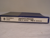 R&S Universaldrucker PDU 2 359.5018.02 PDU 3 359.5501.02/03 Beschreibung