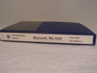 R&S Microsoft MS-dos  User´s Guide / User´s Refernce Manual