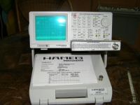 HAMEG HM 5014-2 SPECTRUM ANALYZER 1 GHz Tracking Generator & HZ 541 VSWR Bridge